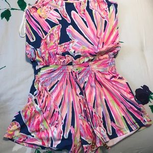 Lilly Pulitzer romper.